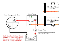 air horn wiring diagram air image wiring diagram print page hints on stebel air horn install on air horn wiring diagram