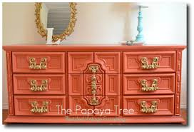 10 examples of sizzling hot painted mod dressers bright painted furniture