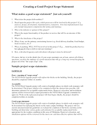 project scope statement examples letter template word project scope statement examples 21532308 png
