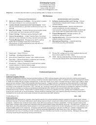 training resume chris lyonschristopher lyons