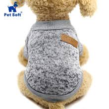 Buy classic <b>pet dog clothes</b> solid and get free shipping on ...