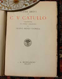 file photo of title page of poesie brevi di c v catullo tradotte file photo of title page of poesie brevi di c v catullo tradotte in versi veronesi da filippo nereo vignola mondadori verona 1925 jpg