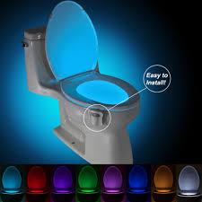 brelong aaa pir led toilet light bathroom washroom online brelong aaa infrared induction led toilet night light bath closestool