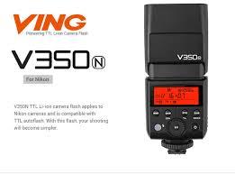 <b>Фотовспышка Вспышка Godox V350N</b> для Nikon со встроенным ...