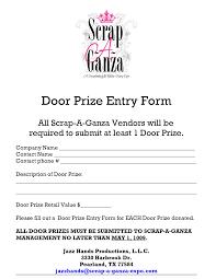 best images of printable door prize slips door prize  door prize entry form template