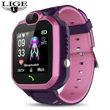 <b>2019 LIGE New Smart</b> Child Watch LBS Kid Smart Watch For ...