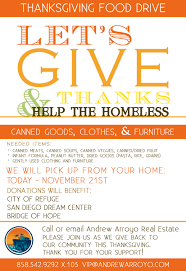 food drive flyers info eye of a needle foundation thanksgiving food drive help the