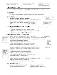 cover letter elementary teacher resume format elementary teacher cover letter resume example effective sample for special education teacher resume template implemented a new reading