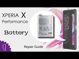 <b>Sony Xperia</b> X Performance <b>Battery</b> Repair Guide - YouTube