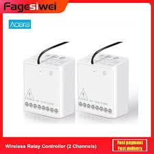 <b>Aqara</b> Relay <b>Two way Control</b> Module Wireless Zigbee Relay ...