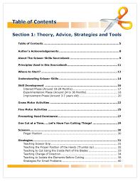 scissor skills sourcebook publications the scissor skills sourcebook pdf version example pages page 021