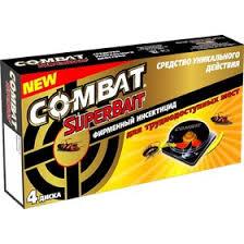 <b>Ловушки для тараканов Combat</b> Super Bait, 4 шт. (4678725 ...