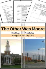 tfa essay questions the other wes moore complete teaching resources pages quizzes vocabulary theme