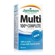 Jamieson Laboratories Jamieson <b>Mens</b>' 100% <b>Complete</b> ...