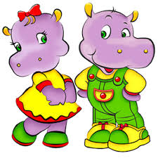 Afbeeldingsresultaat voor hippo's cartoon