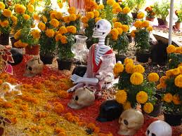 book launch de los muertos american afterlife the scent of marigolds is believed to guide family spirits to the dia de los muertos