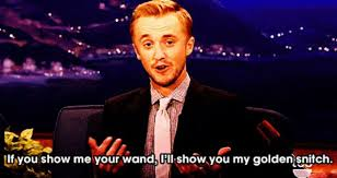 13 Times 'Harry Potter' Fans Fell Hard for Tom Felton via Relatably.com