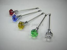 Taiwan <b>5 pieces</b>/set Diamond Shape <b>Fork</b> | TOP JINGLE ...