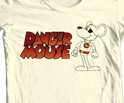 Details about <b>Danger Mouse</b> Cartoon <b>T</b>-<b>Shirt</b> Retro Vintage ...