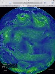 nasa monster el nino climate change means not normal winter yet one more strong westerly wind burst is providing the already powerful 2015 el nino another boost note the extensive reverse trade wind pattern