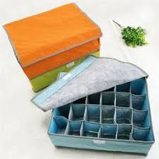 Non-Woven Fabric Drawer Closet 7 16 24 Grid Storage Box ... - Vova
