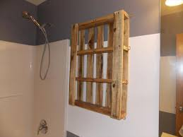 recycled pallet bathroom wall hanging shelf bathroom furniture pallets