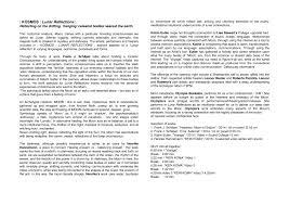 kosmos lunar reflections sarahmartinus com exhibition essay
