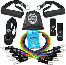 TRIBE PREMIUM Resistance Bands Set for Exercise ... - Amazon.com