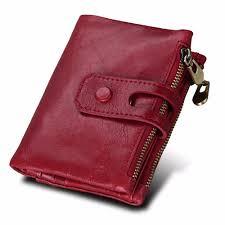 <b>2019 Fashion</b> Wallet Women Genuine Leather Wallets Female Hasp ...