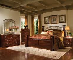 five piece bedroom set awesome standard furniture triomphe  piece poster bedroom set  with  p