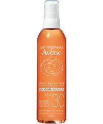 <b>Солнцезащитное масло</b> SPF30   Термальная вода Авен