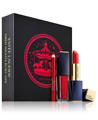 <b>Estée Lauder</b> 3-Pc. <b>Siren Nights</b> Ruby Lips Gift Set & Reviews ...