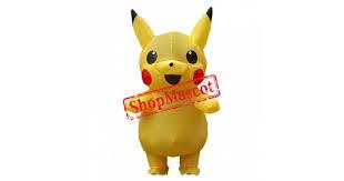 <b>Blow Up Costumes</b> For Kids <b>Inflatable Pikachu Costume</b> Halloween ...
