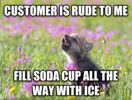 I work at a concession stand at a zoo it helps me feel like I'm ... via Relatably.com