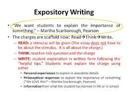 """expository writing ninth grade eoc writing test  expository essay    expository writing """"we want students to explain the importance of something """" – martha"""