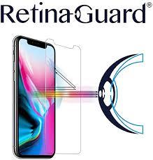 RetinaGuard iPhone Xs, iPhone X <b>Anti Blue Light Tempered Glass</b> ...