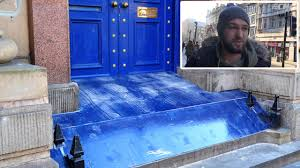england style steps: video thumbnail liverpool reacts to castle street anti homeless device