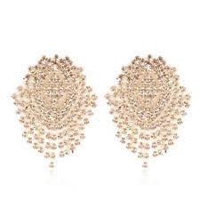 <b>Crystal Cuff</b> Costume <b>Earrings</b> for sale   eBay
