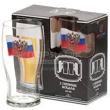 <b>Бокал для пива Декостек</b> Герб на флаге 304/2-Д, 2 шт, 500 мл в ...