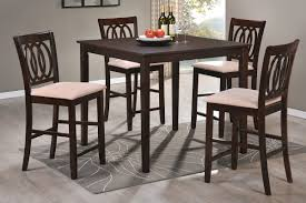 tall dining chairs counter: high dining table designs dreamer marvellous counter height kitchen table rectangle espresso wood dining table stylish espresso wood chair beige vinyl upholstered seat rectangle grey cotton floral rug gray laminate wood flooring