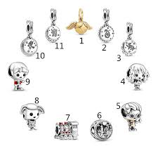 <b>2019 Fashion</b> Pandoras Jewelry Silver <b>925</b> Beads Harry Potter ...