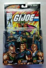 GI JOE VALOR VS. VENOM 2005 COMIC # <b>75</b> 3 PACK DREADNOK ...