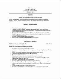hvac resume1 hvac resume2 hvac resume3 hvac technician sample resume