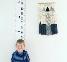 <b>Simple Nordic Style</b> Children 'S Height Ruler Wall Hanging Type ...