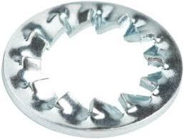 <b>Шайба стопорная</b> из нержавеющей стали <b>DIN6798А</b> М4 (10 шт ...