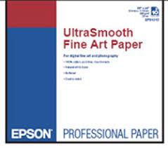 <b>Epson</b> | <b>UltraSmooth Fine</b> Art Paper, 17