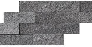 <b>Brave</b> Grey Brick 3D: Porcelain Tile Decorations - <b>Atlas Concorde</b>