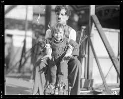 Filming The Kid - Charlie Chaplin