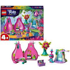 <b>LEGO Trolls</b> 41251 <b>Конструктор</b> ЛЕГО Тролли <b>Домик</b>-<b>бутон</b> Розочки