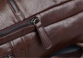 <b>YOOFISH Brand</b> Preppy Style PU Leather School Backpack Bag For ...